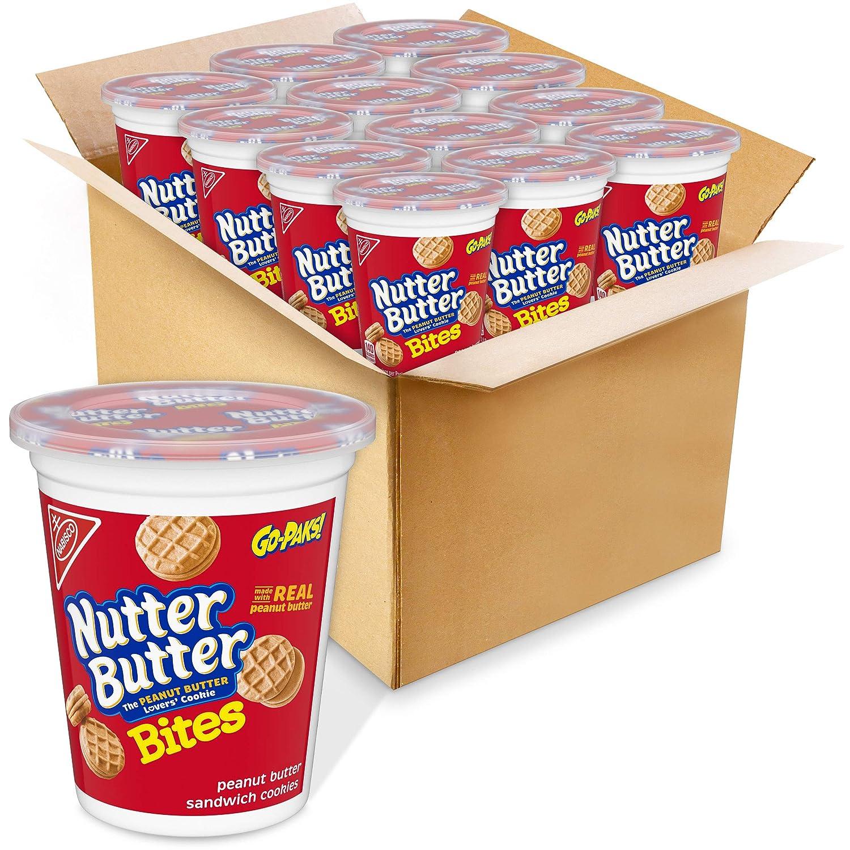 Nutter 70% OFF Outlet Butter Bites Peanut Sandwich Cheap SALE Start - Cookies Go-Pak 3.5