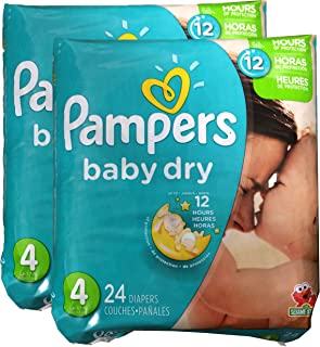 Pampers Baby Dry Diapers - Size 4-48 ct