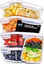 Igluu Meal Prep Glass Containers with Transparent, Steam Vent Lids - Airtight Portion Control Food Storage - BPA Free - Mi...