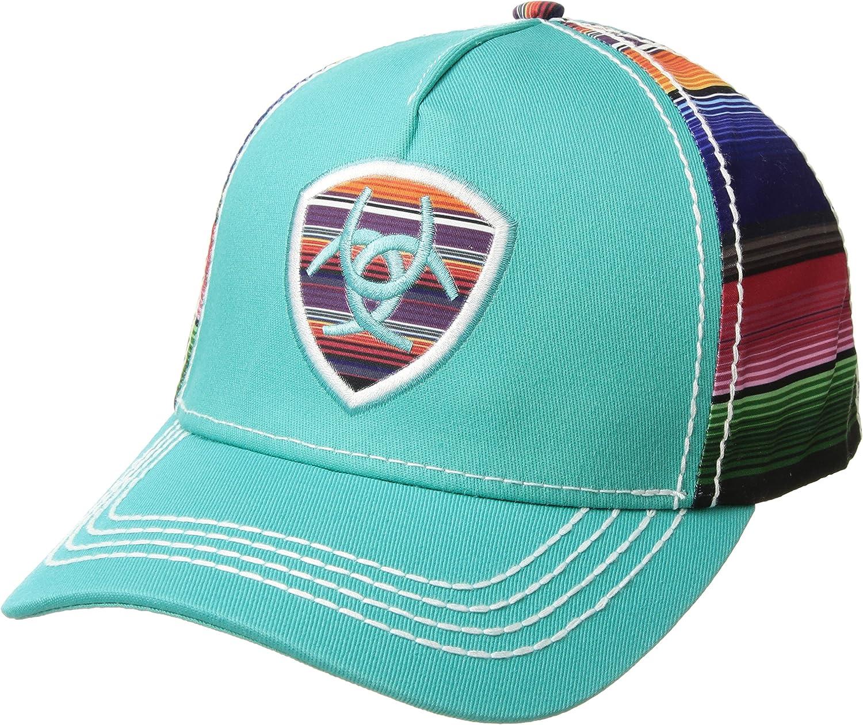 ARIAT Womens Serape Logo Shield Ball Cap