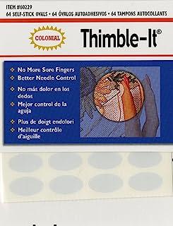 Colorbok Thimble-It Finger Pads, 64 Per Package