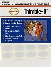 """Colonial Needle""""Thimble-It"""" zelfklevende vingerpads, 6 stuks"""