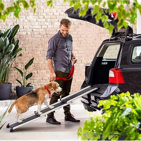 Pet Gear Travel Lite Zweigeteilte Hunderampe Zusammenklappbar 42 X 16 X 4 Cm Haustier