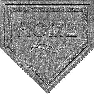 AquaShield Home Plate Mat, 2 by 2-Feet, Medium Grey