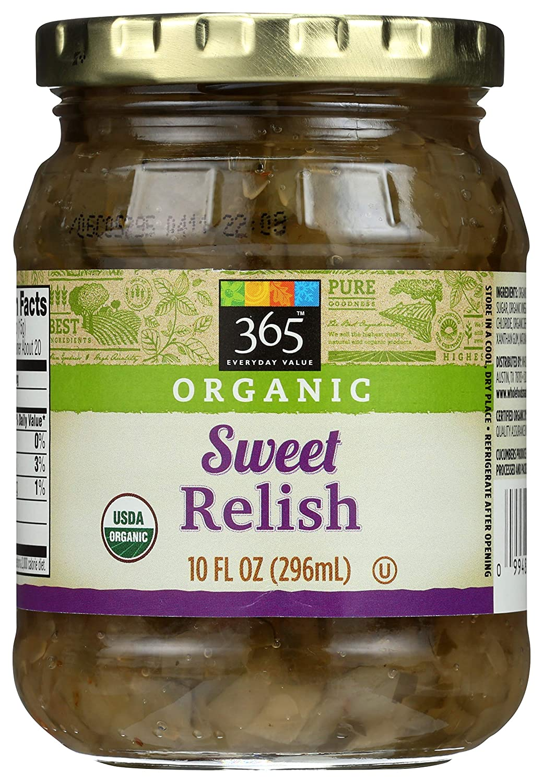 Superlatite 365 by WFM Relish Sweet Oz Fl Organic 10 Pickle discount