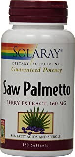 Solaray Saw Palmetto Berry Extract, 160 mg | 120 Count
