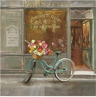 Trademark Fine Art French Flower Shop v2 by Danhui NAI, 35x35,