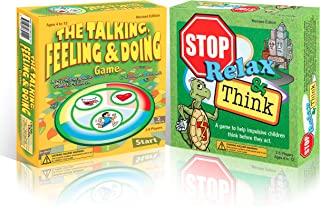 The Talking, Feeling, Doing & Stop, Relax, Think Game Bundle