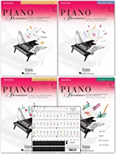 Piano Adventures Level 1 Learning Library Set By Nancy Faber - Lesson, Theory, Performance, Technique & Artistry Books & Juliet Music Piano Keys 88/61/54/49 Full Set Removable Stickers