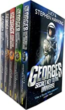 Lucy and Stephen Hawking George Series Collection Set of 4 Books (Key to the Universe, Cosmic Treasure Hunt, Big Bang, Unb...