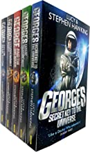 Lucy and Stephen Hawking George Series Collection Set of 4 Books (Key to the Universe, Cosmic Treasure Hunt, Big Bang, Unbreakable, Blue Moon) Books For 9+ years old