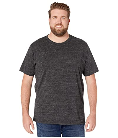 Alternative Big Tall Eco Crew T-Shirt (Eco Black) Men