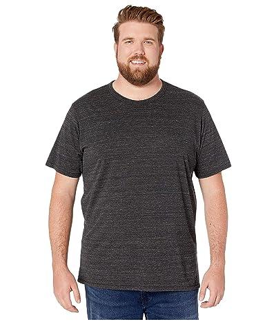 Alternative Big Tall Eco Crew T-Shirt (Eco Black) Men