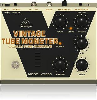 Behringer Vintage Tube Monster VT999 Classic Vacuum Tube Overdrive Instrument Effects Pedal