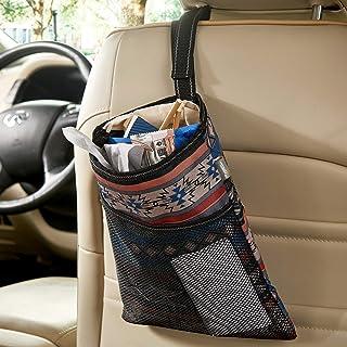 High Road Car Trash Bag with Leakproof Lining and Storage Pocket (Southwest)