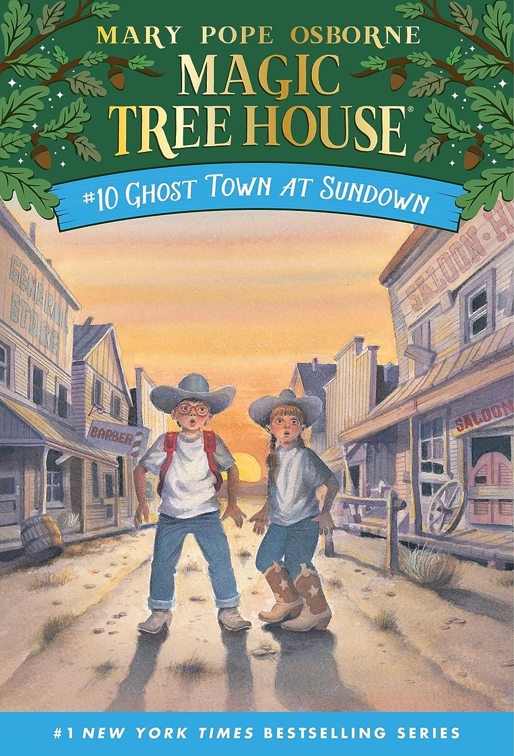 快適寄託謎めいたGhost Town at Sundown (Magic Tree House Book 10) (English Edition)