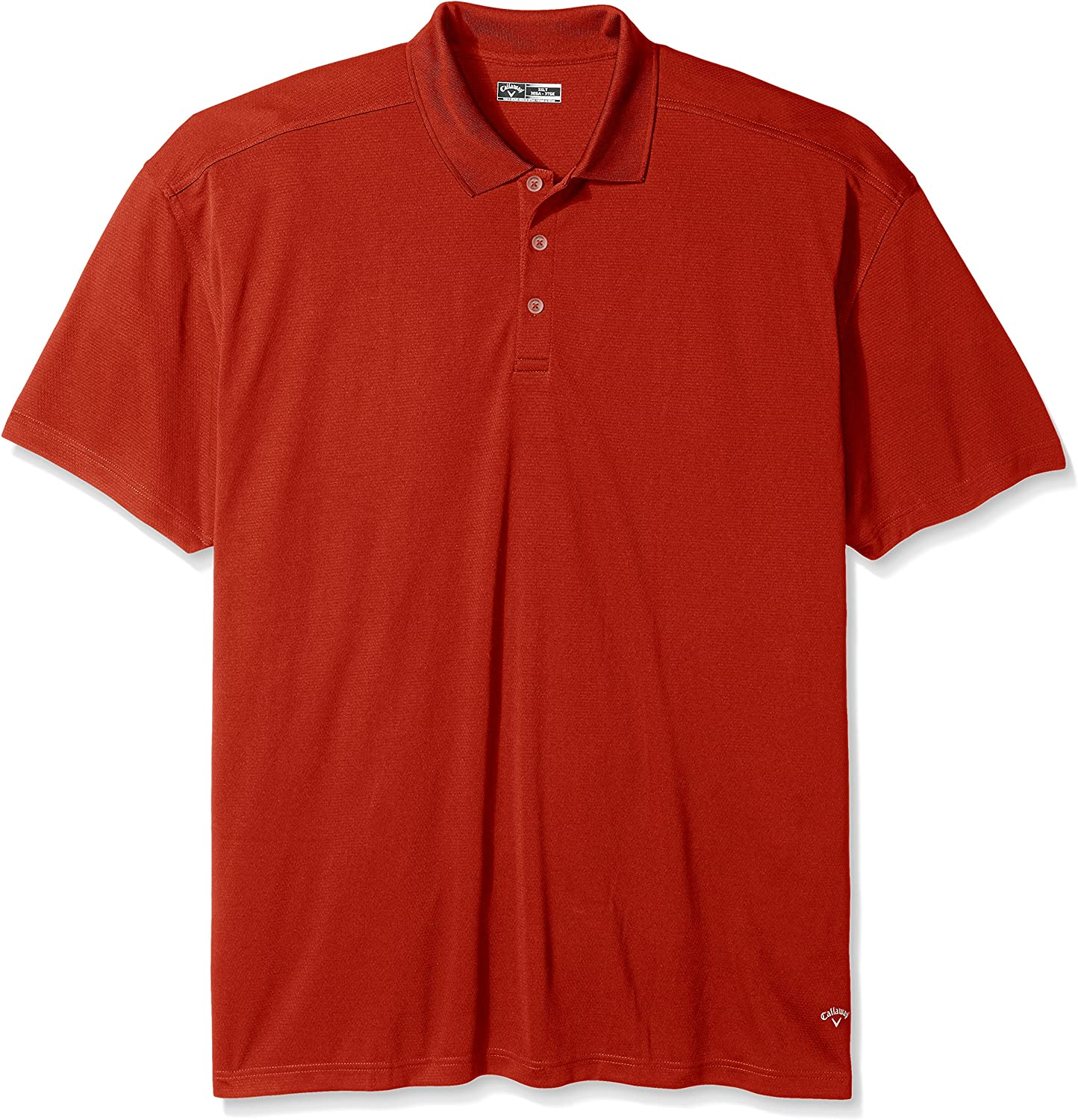 Callaway Herren Big & Tall Short Sleeve Opti Core Performance Polo