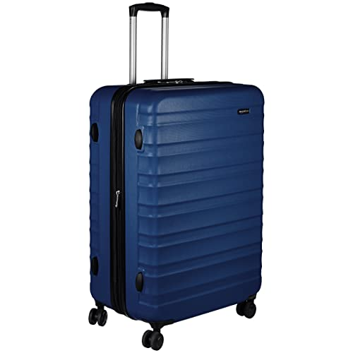 88b31a99f380 AmazonBasics Hardside Spinner Luggage - 28-Inch