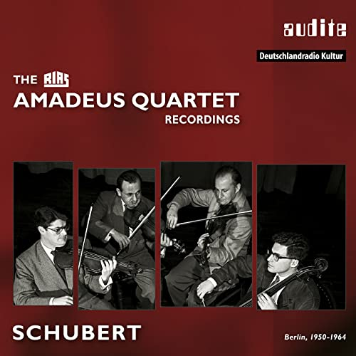 Resultado de imagen para schubert string quartets amadeus