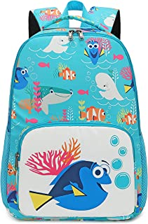 Kids Backpack School Book Bags for Elementary Primary Schooler (Fish-0067)