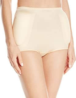 Women's Hip and Rear Padded Panty, Beige, Small (26)