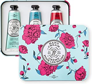La Chatelaine Hand Cream Aqua Trio Collection, Set of 3 x 1 Oz: Plant-Based, Made in France with 20% Organic Shea Butter &...