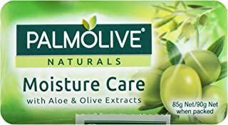 Palmolive Naturals Moisture Care Aloe & Olive Extracts Bar Soap 4 x 90g_Green