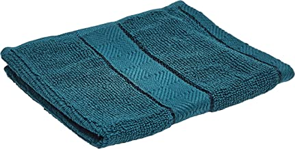 Panache Exports Utopia Soft Face Towel, Teal Blue, 33 x 33 cm, PESOFFAC01