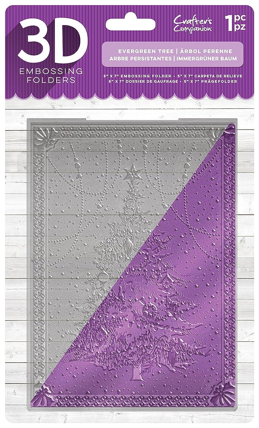Die'sire EF5-3D-EVTR 3D Embossing Folder, Clear