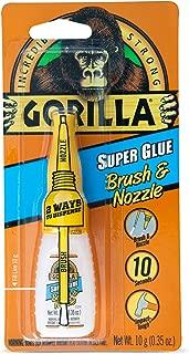 Gorilla 7500101 07221000673 Glue Brush & Nozzle, 1-Pack, Clear