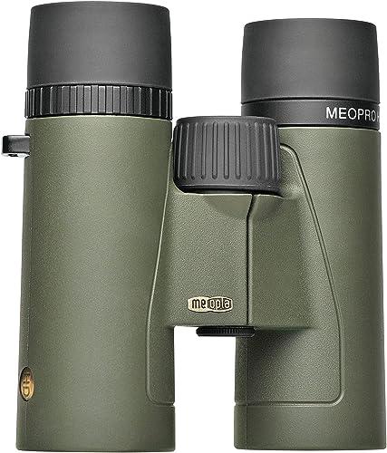 Meopta MeoPro HD Jumelles 8 x 32 en Caoutchouc-Vert Foncé