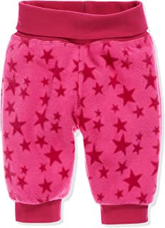 Schnizler Baby Fleece Stars With Knitted Waistband Pump Trousers