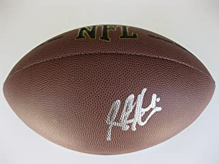 Steve Hutchinson, Seattle Seahawks, Minnesota Vikings, Tennessee Titans, Michigan Wolverines, Signed, Autographed, NFL Football, a COA with the Proof Photo of Steve Signing Will Be Included with the Football