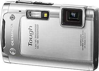 OLYMPUS 防水デジタルカメラ TOUGH TG-615 シルバー 5m防水 1.5m対落下衝撃 -10度耐低温 1400万画素 3Dフォト機能 Eye-Fiカード対応 TG-615 SLV