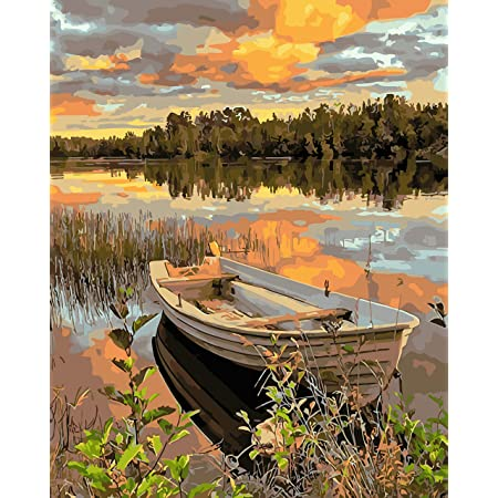 DIY Oil Paint by Numbers for Adults and Kids,Oil Painting 16Wx20L Drawing Paintwork with Paintbrushes,Painting by Number Kit On Canvas for Beginners,Acrylic Pigment-Love No Frame