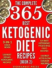 KETOGENIC DIET: KETOGENIC RECIPES: 365 MOST DELICIOUS KETOGENIC DIET RECIPES (keto, keto diet, ketogenic eating, ketogenic cooking, vegan keto, keto slow cooker, keto paleo, paleo, low carb, healthy)