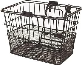 Retrospec Bicycles Detachable Steel Half-Mesh Apollo Bike Basket with Handles