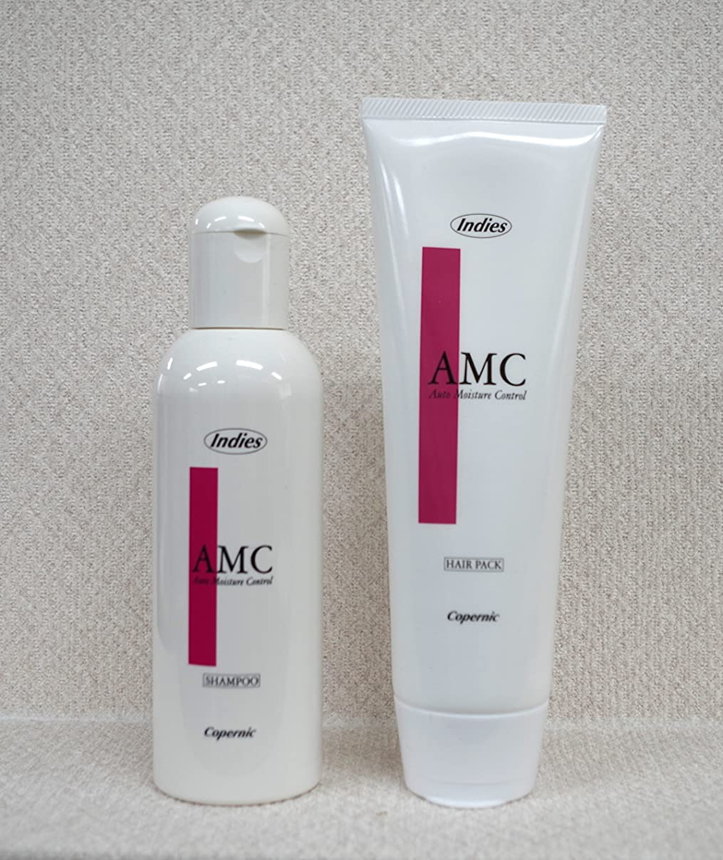 腹痛スパイラルに対処する美容師さん考案【インディーズ?AMCシャンプー&ヘアパックセット】
