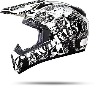 <h2>ATO-Moto Nevada Weiß Größe S 55-56cm Motocrosshelm mit ausziehbarer Sonnenblende und der neusten Sicherheitsnorm ECE 2205</h2>
