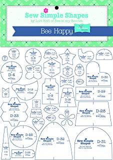 Lori Holt's Sew Simple Shapes - Bee Happy