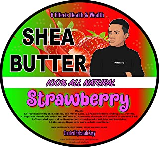 """Strawberry Shea Butter""""16 Oz"""" Isaiah Zayy 8effects Products (Strawberry)"""