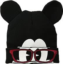 Disney Men's Mickey Flip Mask Beanie