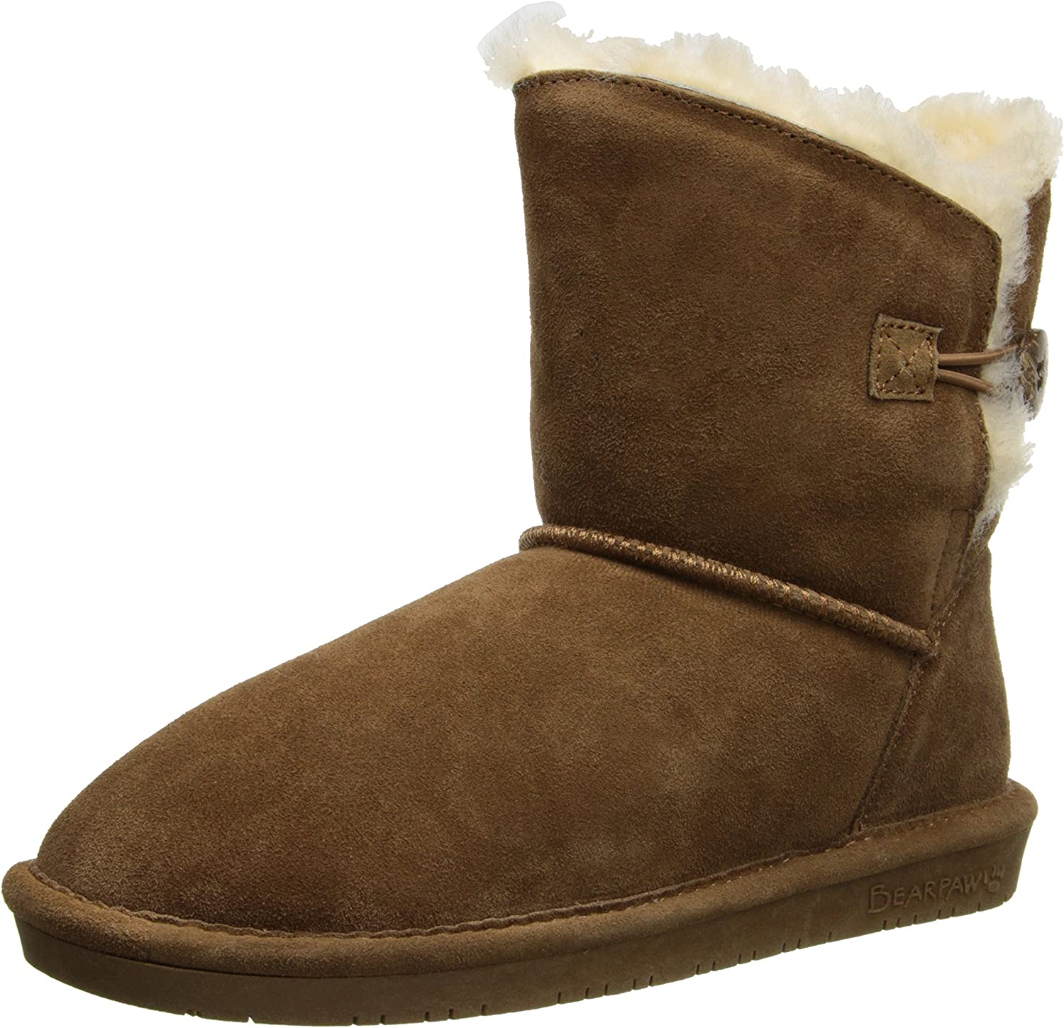 BEARPAW Women's Limited Special Price Rosie Shearling Hickory 1653-W Virginia Beach Mall Boots