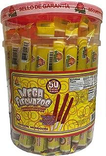 El Azteca Mega Flechazos Hot & Salt Tamarind flavor candy, 50 count