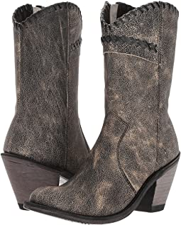Old West Boots - Crisscross Stitch Boot