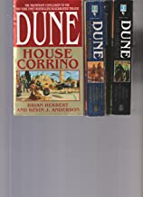 DUNE - Set Of 3 Books - House Harkonnen - House Atreides - House Corrino.