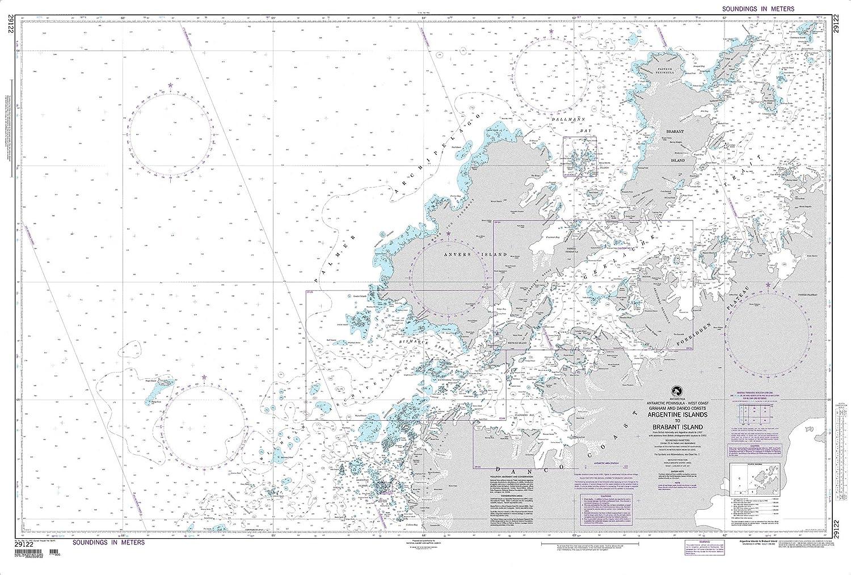 NGA Max 90% OFF Chart 29122 Argentine Islands 35. x 52.5