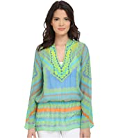 Hale Bob - Meet Me in Havana Silk Chiffon Tunic