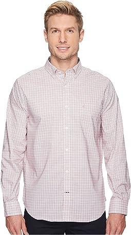 Nautica - Long Sleeve Small Wear to Work Plaid Shirt