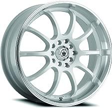 Konig Lightning White Wheel with Machined Lip (16x7